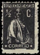 "PORTUGAL 256 (Mi205C) - Ceres ""Keyplate"" 1920 Black (pf78982)"