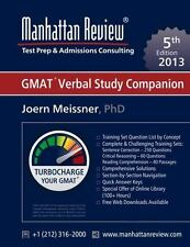 Manhattan Review GMAT Verbal Study Companion [5th Edition] (Paperback or Softbac