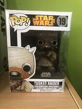 Funko Pop! Star Wars Tusken Raider #19 + Pop Protector