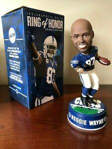 2018 Reggie Wayne Indianapolis Colts Ring of Honor Bobblehead VERY RARE New Box