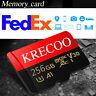 Micro Flash Memory Card 256GB 128GB 64GB 95MBs Class 10 High Speed & Adapter NEW