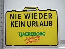 Aufkleber Sticker Tjaereborg - Touristik - Urlaub - Reise - Ferien (S1590)