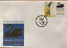 Australia 2012 Swan River Stamp Show Souvenir Cover