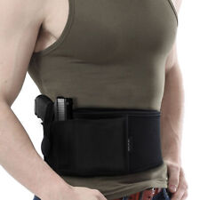 Right/Left Hand Tactical Universal Abdominal Band Holster For Glock 17 19 22