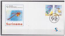 Surinam / Suriname 1999 FDC 230 UPU satellite satellit planet planete planeet