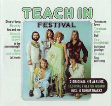 Teach-In – Festival / Get On Board  2 CD NEW (+ 6 bonus)