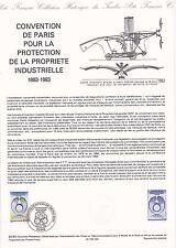 Document Philatélique Timbre 1er Jour : 14/05/ 1983 - Protection Industrielle