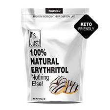100% Natural Erythritol Sweetener Non-GMO Keto Friendly Non-Glycemic Sugar-Free