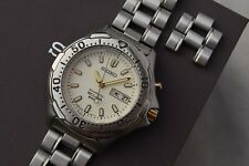 Serviced Seiko SBCZ009 Scuba Dive Watch Textured Dial Kinetic 5M63-0B30 Oct 2011