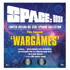 More details for sixteen12 -  space 1999 - the wargames - hawk & eagle spaceships (brand new)