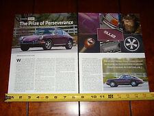 1969 PORSCHE 912 - ORIGINAL 2013 ARTICLE
