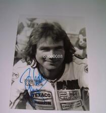 MOTOR RACING LEGEND BARRY SHEENE SIGNED (PRINTED) WORLD CHAMPION PHOTOGRAPH ONE
