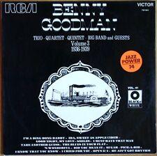 33T LP JAZZ Black & White V0L.41 BENNY GOODMAN VOLUME 2 RCA 731.041 Disque MINT