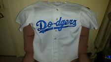 4-Los Angeles Dodgers Jersey No Number OFFICIAL DODGERS USA -STARTER -COOPERTOWN