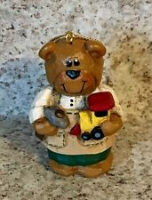 Eddie Walker * Midwest of Cannon Falls * Bear with Hammer and Train Ornament