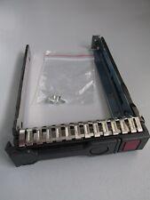 "HP 2,5 "" SAS / SATA Hot Swap HDD Rahmen / Caddy / 651687-001, für G8 / G9 - neu"