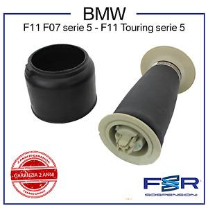 BMW 5 F11 MOLLA ARIA SOFFIONE SOSPENSIONE AMMORTIZZATORE POST 37106781828/27