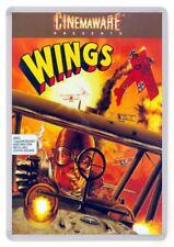 Wings Fridge Magnet. Game Box Cover Art. Retro Gaming. Amiga. Cinemaware