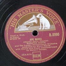 78 RPM Webster Booth Ave Maria/AGNUS DEI