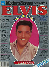 RARE MAGAZINE HOMMAGE 100% ELVIS PRESLEY-EARLY YEARS- USA 1979-NOMBREUSES PHOTOS
