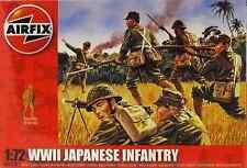 AIRFIX 1:72 WWII FANTERIA JAPANESE INFANTRY 48 SOLDATINI ART 01718 SERIE 1