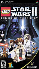 LEGO Star Wars II 2 The Original Trilogy UMD PSP GAME SONY PLAYSTATION PORTABLE