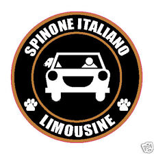 "Limousine Spinone Italiano 5"" Dog Sticker"