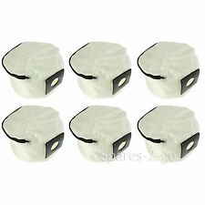 6 x Zip Up Reusable Vacuum Cleaner Hoover Bags for Numatic Henry Hetty James
