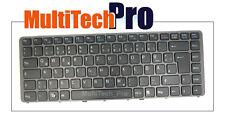 DE Tastatur f. SONY VGN-NW29GF VGN-NW2ER VGN-NW2ET VGN-NW31JF Schwarz mit Rahmen
