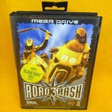 VINTAGE 1994 SEGA MEGA DRIVE ROAD RASH 3 16 MEG CARTRIDGE VIDEO GAME PAL VERSION