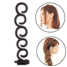 1 Pair DIY Braid Clip Hair Twist Magic Centipede Styling Stick Bun Maker Tools Y