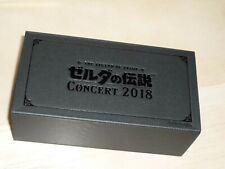 THE LEGEND OF ZELDA CONCERT 2018 Music Box Pin Set Zelda lullaby Nintendo F/S