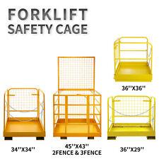 Forklift Safety Cage, Forklift Work Platform, Heavy Duty Aerial Lifting Baskets