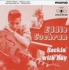 ROCKABILLY EP - EDDIE COCHRAN - MIGHTY MEAN /TOOD-A-LO /BONGO BOY/KISS & MAKE UP