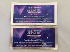 Crest 3D White Luxe Professional Effect Whitestrips Teeth Whitening 2 pouches