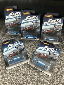 Hot Wheels 1970 Ford Escort RS1600 Fast And Furious 6 Old School Ford