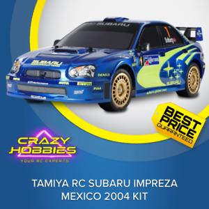 TAMIYA RC SUBARU IMPREZA MEXICO 2004 KIT *IN STOCK*