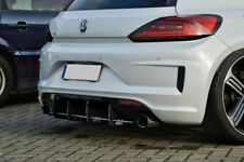 Diffuser for VW Scirocco R facelift Rear Bumper middle part Valance Skirt Trim