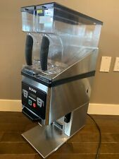 bunn dual hopper commercial coffee grinder-used