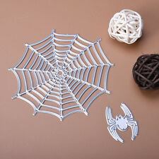 Spider and Net Metal Cutting Dies Stencil For DIY Scrapbooking Paper Cards Decor