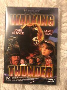 Walking Thunder-1997-John Denver-Movie-DVD **Free Post** RARE