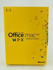 Microsoft Office 2011 Home and Student (Retail) 1 Copy - Full Version for MAC