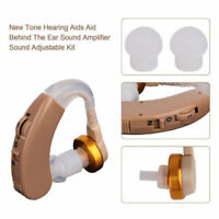 Adjustable Digital Hearing Aid Kit Behind the Ear BTE Sound Voice Amplifier G_QA