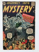 Journey Into Mystery #77 - Pre Hero 1962 Marvel Silver Age Horror Sci-fi