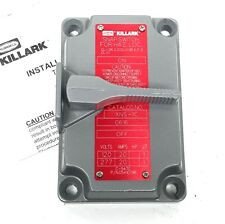Killark XNS-1C Explosion Proof On/Off Snap Switch Tumbler Cover for 20 Amp