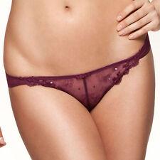 XS 8 Gossard 8543 Femme Fatale Brief Knickers  Plum Purple New Lingerie