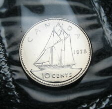 RCM - 1978 - 10-cents - Proof Like - Sealed in original cellophane ( One coin )