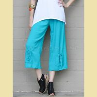 OH MY GAUZE Cotton  SAMMY  Crop Pants  1 (S/M) 2 (M/L/XL) 3 (XL/1X/2X)  REEF