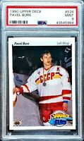 PAVEL BURE 1990 Upper Deck Young Guns #526 RC PSA 9 MINT Vancouver Canucks HOF