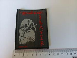 Slayer Patch Aufnäher (no Rigor Mortis, no Sacrifie, no Tankard)